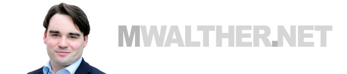 Walther >> Herzlich willkommen auf mwalther.net! - mwalther.net